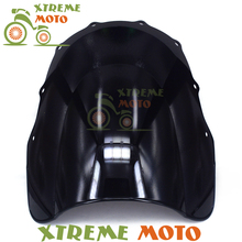 Black Motorcycle Windscreen Windshield For ZZR400 ZZR600 ZZR 400 600 1993-2007 Motocross Motorbike Dirt Bike