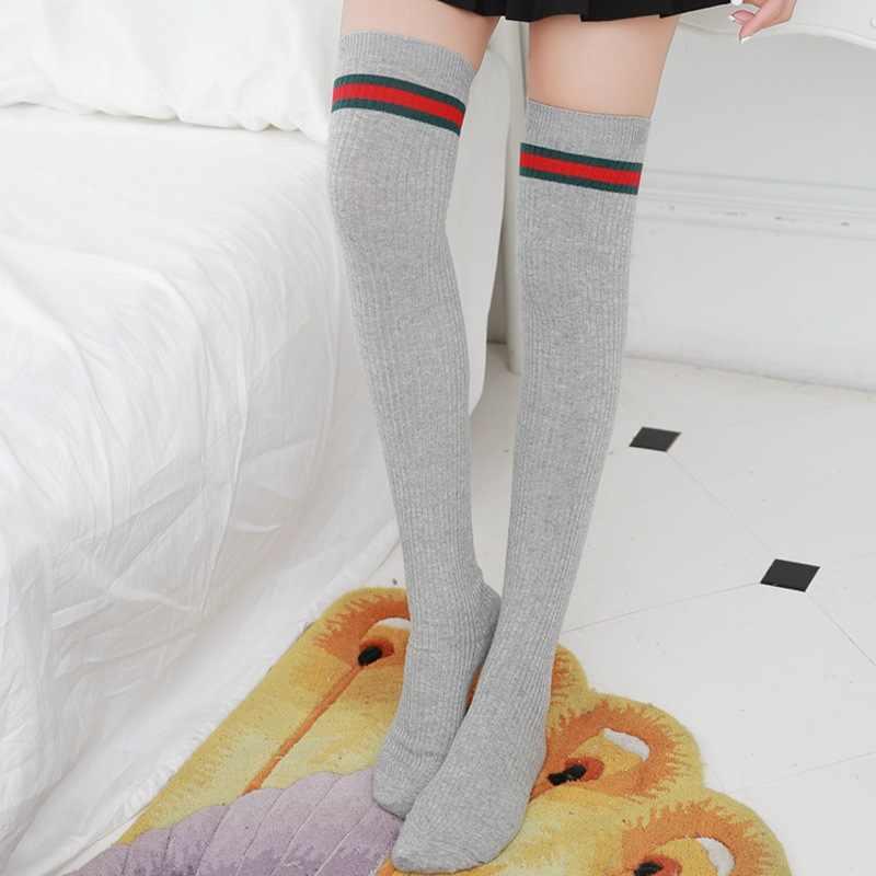 d32bb8af4 New Arrival knee Socks High Socks Over Knee Girls Comfortable stockings  women stockings sexy girls