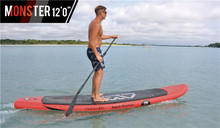 "Freeshipping Aqua Marina Monster 12'0"" Stand Up Paddle Board Inflatable Surfing board"