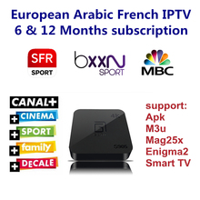 Buy Android TV Box 1000+ Channels European Europe Arabic French Belgium IPTV Code Live TV Smart TV box France Belgian Arab for $27.00 in AliExpress store