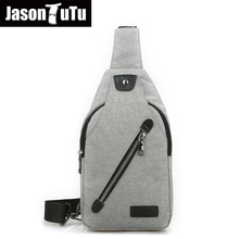 Buy Crossbody Bags Men Canvas Messenger Chest Bags pack Cell phone pocket Men's travel Purses handbags bolso hombre FB1247 for $9.99 in AliExpress store