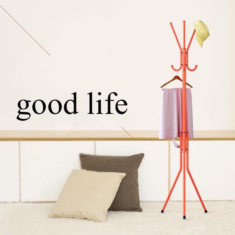 139x40cm Multi-functional Metal Coat Rack Children Hanging Hanger Clothes Hook Bedroom Living Room Furniture<br>