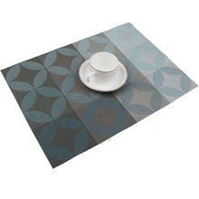 1Pcs PVC Quick-drying Placemats Insulation Mats Coasters Kitchen Dining Table Mat