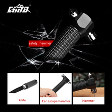 CIMA Car Hammer Emergency Tool Auto Car Safety Escape Hammer Seat Belt Cutter(China)