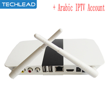 Q11 Arabic IPTV smart Android TV box with 1 Year French UK African italy Germany Spain EXYU IP TV account europe TV package APK