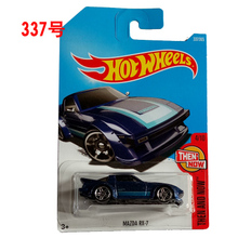 New Arrivals 2017 P Hot Wheels 1:64 mazda rx7 Diecast Car Models Collection Kids Toys Vehicle For Children(China)
