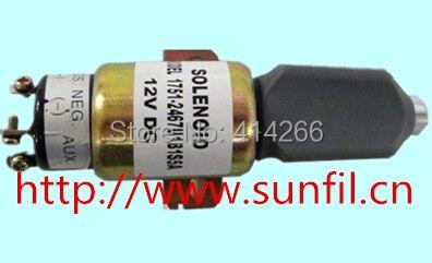 Fuel Shut Off Solenoid SA-4259 , SA-4259-12 1751-12A6U1B1S5 (12V 2 terminals)<br><br>Aliexpress