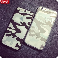 Crystal Transparent Clear Camouflage Cover Coque For iPhone 6 6s Case For iphone 6s plus case Silicone Series Soft Premium