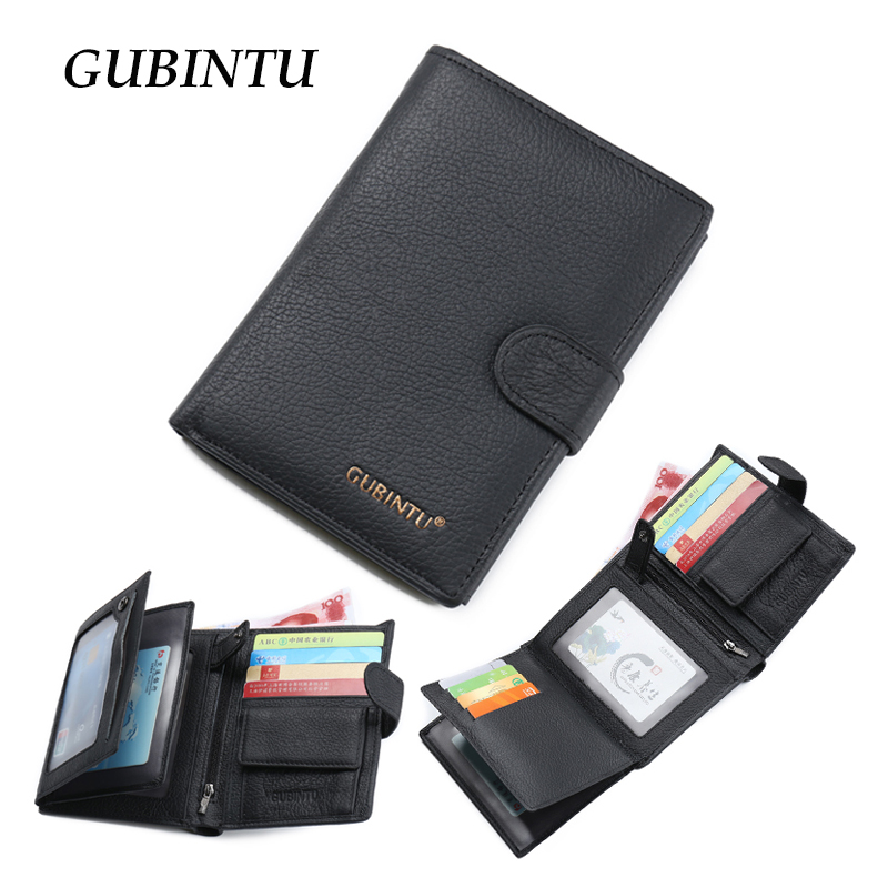 2017 Classical European and American Style Man Wallets 100% Genuine Leather Wallet Fashion Purse passport holder Wallet For Men<br><br>Aliexpress