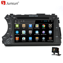 Junsun 2 Din Android 6.0 Car DVD Player 2GB+32GB For SSANG YONG ActYon 2005 2006 2007 2008 2009 2010 2011 2012 GPS Stereo Radio(China)
