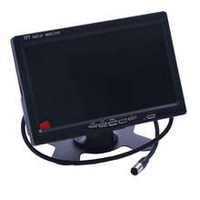 "7"" TFT LCD Monitor DVD MP5 Player Video HD 800 x 480 Car Auto Reverse Camera Monitor Video Backup Rear view Monitor System"