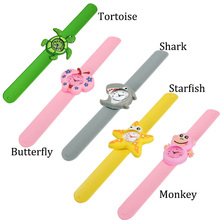 3D Cute Adorable Cartoon Student Wristwatch Animal Quartz Silicone Sports Kids Wrist Watch Unique Pattern Boys Girls Gift ~M24