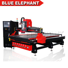 1530 Professional Italy 9.0KW 3D air cooled spindle furniture making wood kitchen cabinet door flat Auto Tool Changer cnc router(China)