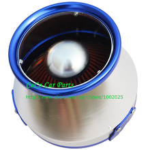 Free Shipping: Cone-Shaped High Performance Cold Air Intake Universal 3 in 1 Sport Car Air Filter(China)