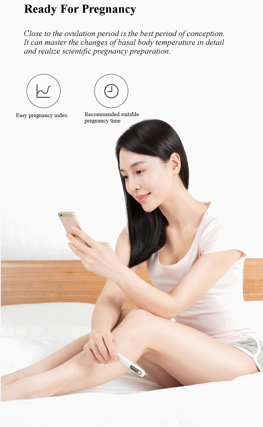 Xiaomi Women Scientific Pregnancy Basic Thermometer