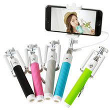 Phone Selfie Stick Monopod Self Stick For Iphone 6 Plus For Samsung S6 Xiaomi HTC LG IOS Android Palo Para Selfie Wired Monopod(China)