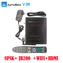 Free shipping cost Popular Sale Jynxbox V30 Full HD 4k fta Satellite Receiver