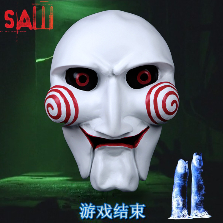 Halloween Gift Chainsaw Massacre Movie Theme Cosplay Masquerade Ghoul Scary Ghost Skull Party Home Decoration Resin Mask(China (Mainland))