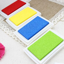 Homemade DIY Gradient Color ink Pad Multicolour Inkpad Stamp Decoration Fingerprint Scrapbooking Accessories