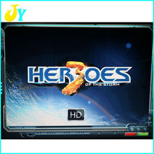 Another 645 in 1 Pandora Heros game box 4 multi game board Upgraded Version CGA & VGA output for Arcade Game Cabinet