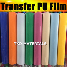 Factory directly selling Premium PU Heat Transfer Film for Garment 50x100cm in one lot by free shipping