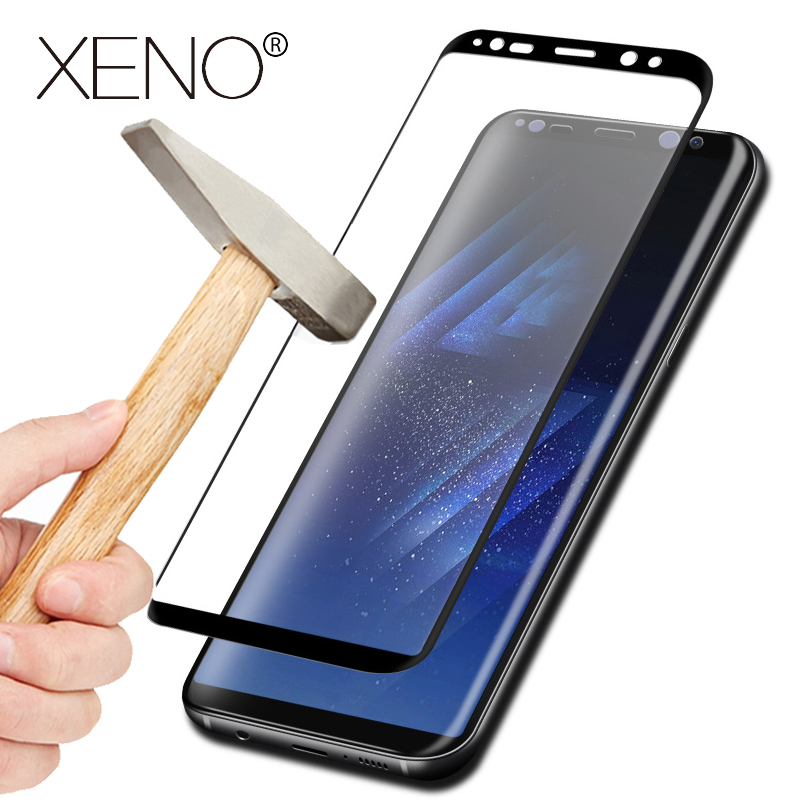 5D Curved Full Cover Tempered Glass S7 Note 8 Samsung Galaxy S8 Plus S7 Edge Screen Protector Film front storm Glass 9H
