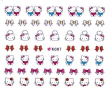 Nail sticker shop sell free shipping hello kitty K series hello kitty nail sticker