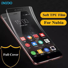 IMIDO Full Cover TPU Film Screen Protector For Nubia Z11/Z11 Mini/Z11 mini S/Z11 Max Cover Curved Part (Not Tempered Glass)