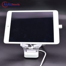 Retail Store Security Display Alarm Acrylic Holder Tablet PC Anti-theft Display Alert System