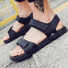 Breathable Men Gladiator Sandals Vietnam Shoes Male Beach Casual Shoes Vietnamese Sandal Shoes Flip Flops Sandalias XK051208(China)