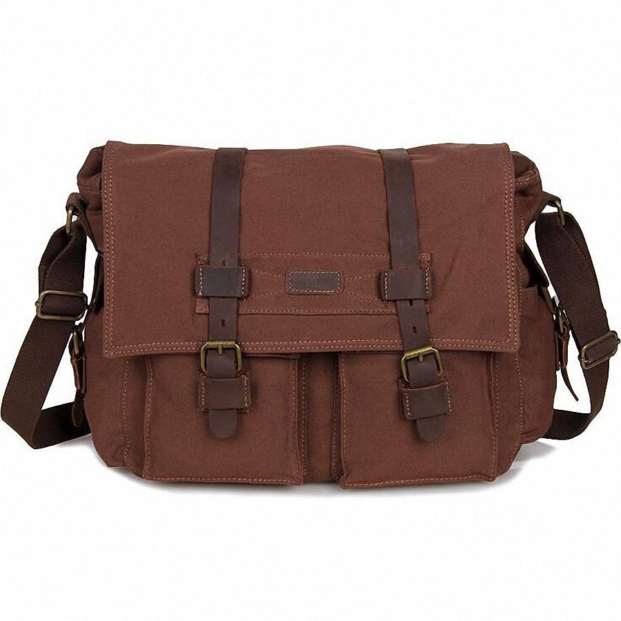 2016 New Fashion Man Laptop Shoulder Bag vintage Men Canvas Messenger Bags Casual Travel crossbody Bag LI-1616<br><br>Aliexpress