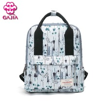 GAJIA 2017 New hot sale school style college backpacks male and female generic high quality canvas fashion backpacks leisure