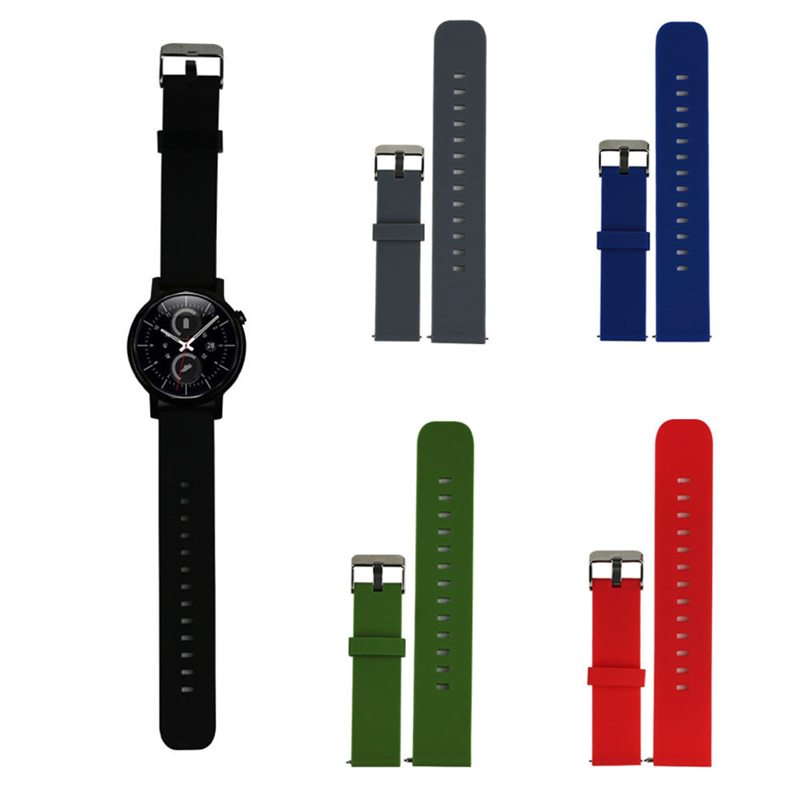 20mm Watch Strap Sport Fitness Silicone Watch Bands with Steel Buckle For Samsung Galaxy Gear S2 Classic SM-R732 Correa Reloj<br><br>Aliexpress