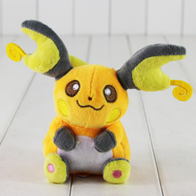 "6""15CM Raichu Plush Toy kawaii Stuffed Animals Plush Doll Toys"