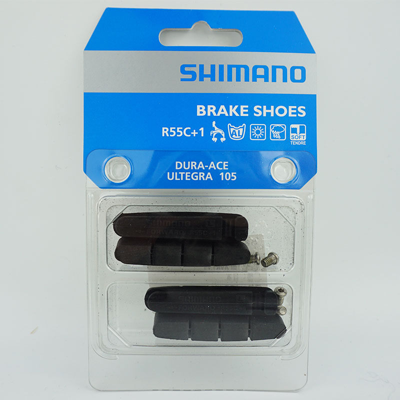Shimano Dura Ace BR-R9100//9000 R55C4 Brake Shoes Pads Fixing Bolts Ultegra 105