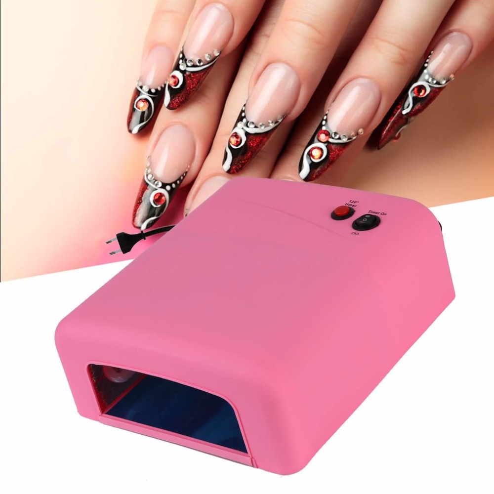 2018 Electric Nail Dryer 36w Uv Lamp For Drying Nails Gel Polish ...