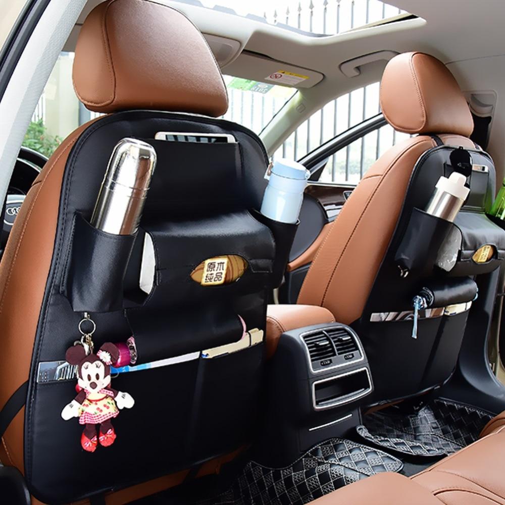 New Car Accessory Seat Side Storage Organizer Interior Multi Use Bag Ornate