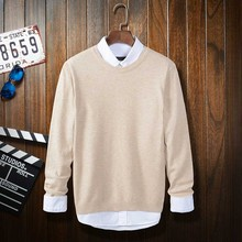 2017 Spring Men Sweaters Japanese School Style Woolen Pullovers High Quality Trendy Design Sweaters for Teen