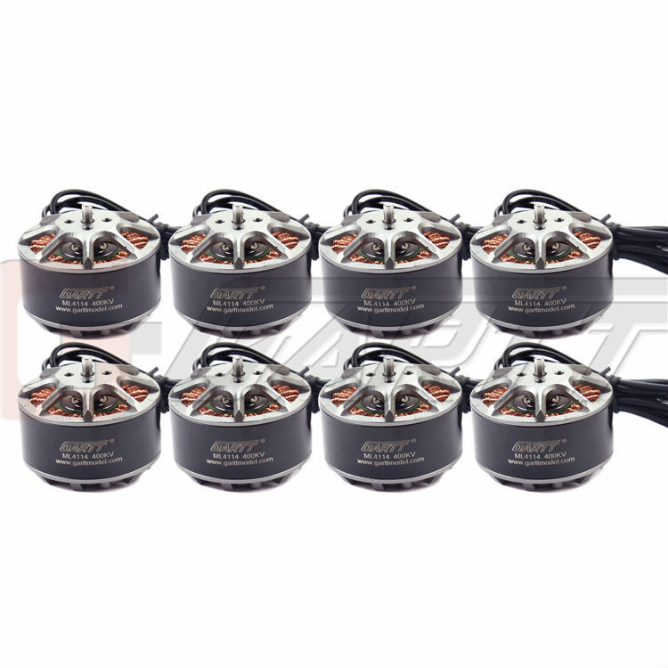 GARTT 8 X ML 4114 400KV Brushless Motor For Multirotor Quadcopter Hexa<br>