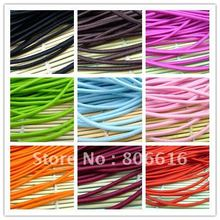3.5MM/W 45M (Mixed 9 Colors) Round Elastic Band Stretch Rope Bungee Cord Strings DIY Hair Accessories