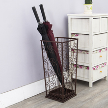 Metal umbrella rack home hotel creative umbrella rack storage rack shelf hall umbrella stand