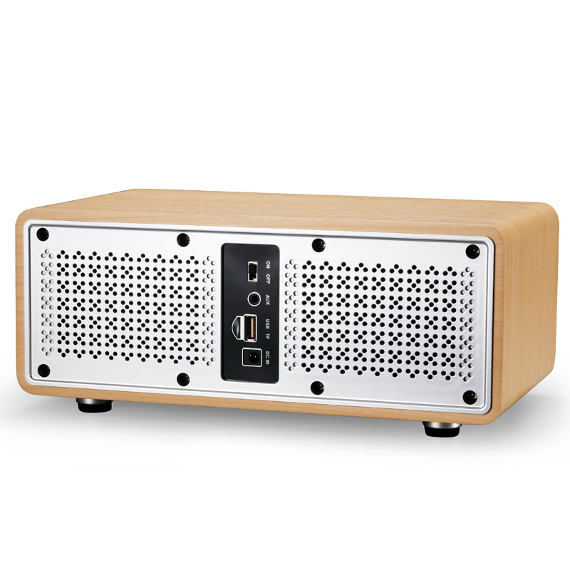 Home Theater 30W High-power Wireless Bluetooth HiFi Surround Sound Bass Speaker Audio Subwoofer LED With UHF Microphone