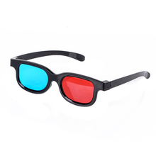 Maytir 1 pair Professional Red Blue 3D Glasses High Quality Anaglyph Movie 3D Glasses Supports 3D Movies Photos