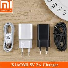 Original XIAOMI Redmi Charger 5V 2A Power Adaptor micro usb Data Cable xiaomi redmi4A 4X Note4x 4 4A 5 Note5A REDMI 5 plus