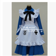 New Arrivel APH Axis Powers Hetalia England Rosa  dress Cosplay Costume maid lolita  party dress full set