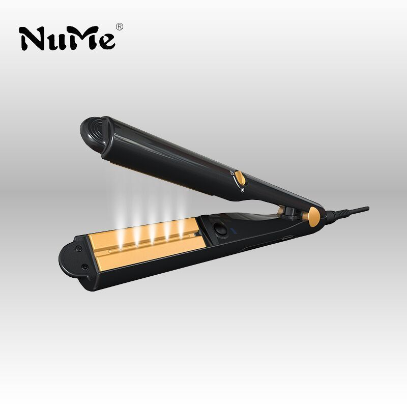 Steam Hair Straightener Argan Oil Flat Iron Ceramic hair curler Professional Curling iron wet and dry Styling Tools<br>