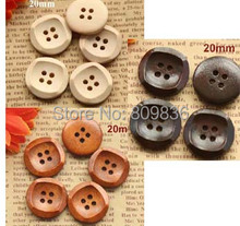 30pcs/lot New vintage Round wooden buttons,best-selling good quality 20MM buttons,wholesale button,Free shipping(SS-2892)