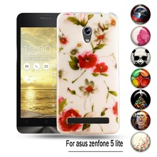 "Custom Patterns Soft TPU Phone Covers For Asus ZenFone 5 Lite A502CG 5.0""  Flexible Case Cover ZenFone5 Lite Skin Shell Bags"