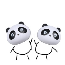 Cute Panda Car Perfumes 100 original 5ml Solid Air Freshener OEM Air Conditioning Vent Flavoring In the Car parfums(China)