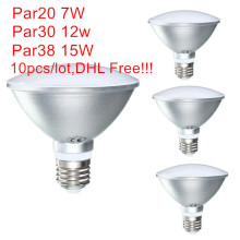 Led Spot Lamp Par20 Par30 Par38 Led Bulb E27 E26 AC85-265v Dimmable Led Spotlight Light Warm Cold White Waterproof IP65 UL CE